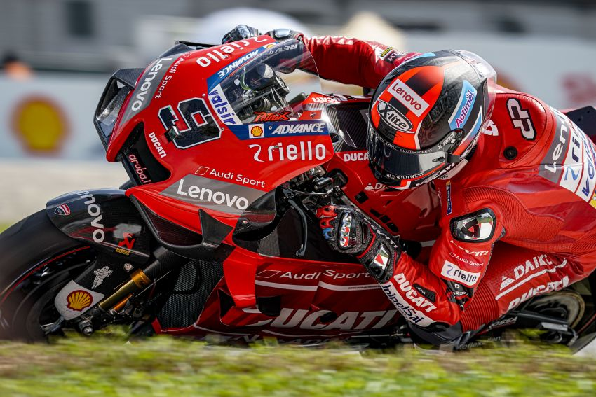 10 minutes with Gabriele Conti, Ducati Electronic Systems director – it's all bits and bytes and data Image #1040956