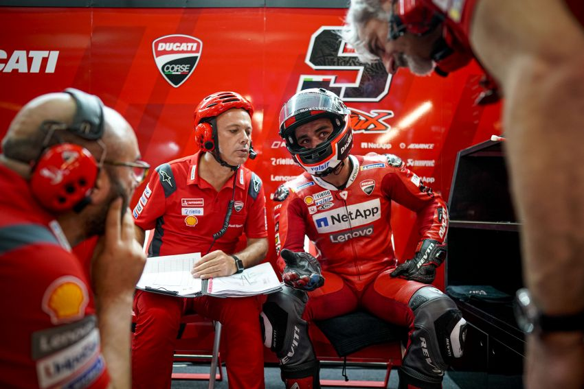 10 minutes with Gabriele Conti, Ducati Electronic Systems director – it's all bits and bytes and data Image #1040961