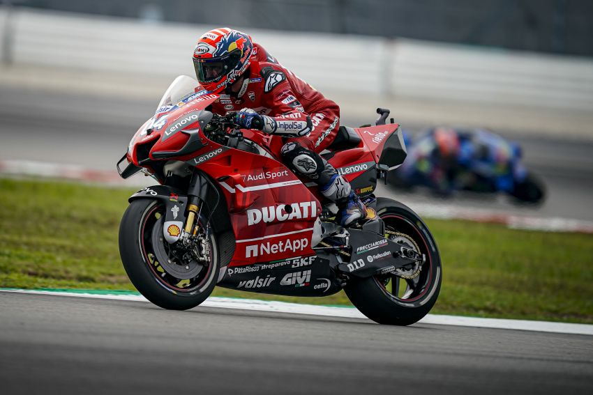 10 minutes with Gabriele Conti, Ducati Electronic Systems director – it's all bits and bytes and data Image #1040947