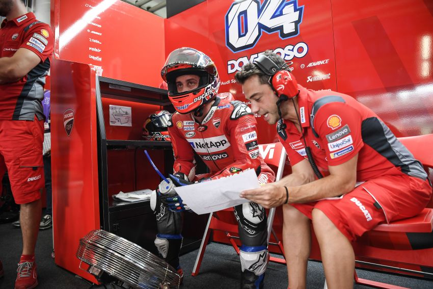 10 minutes with Gabriele Conti, Ducati Electronic Systems director – it's all bits and bytes and data Image #1040948