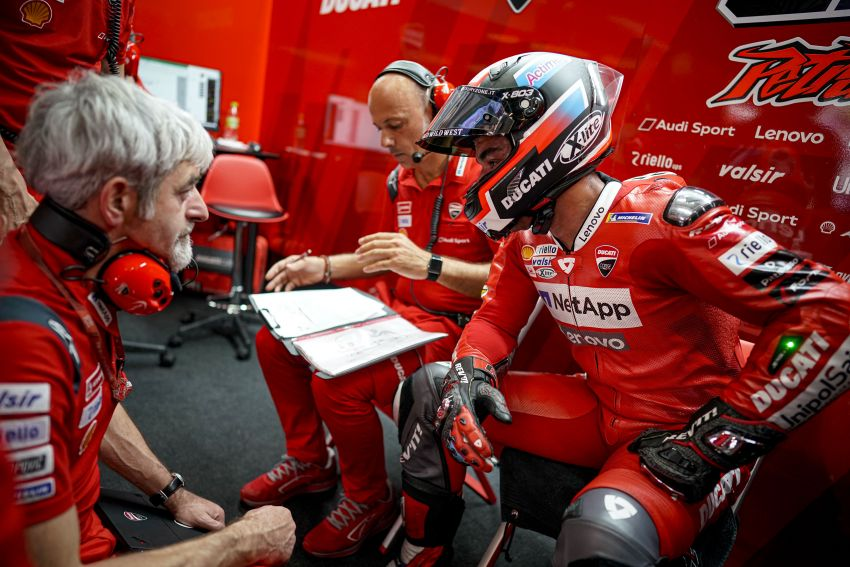 10 minutes with Gabriele Conti, Ducati Electronic Systems director – it's all bits and bytes and data Image #1040951