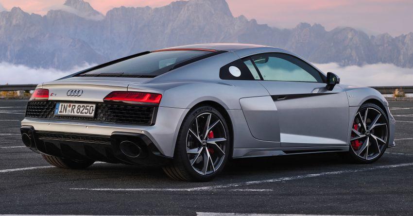 2020 Audi R8 V10 RWD returns as a permanent model Image #1042835