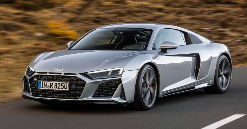 2020 Audi R8 V10 RWD returns as a permanent model Image #1042838