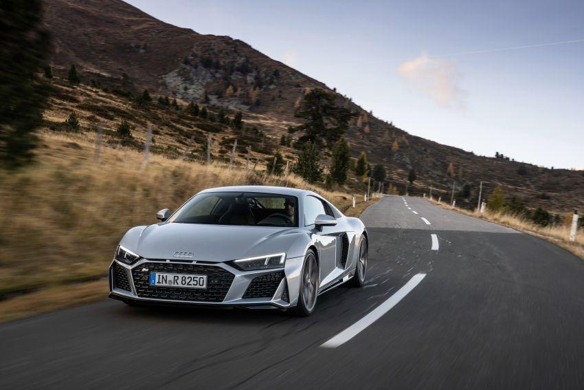2020 Audi R8 V10 RWD returns as a permanent model Image #1042842