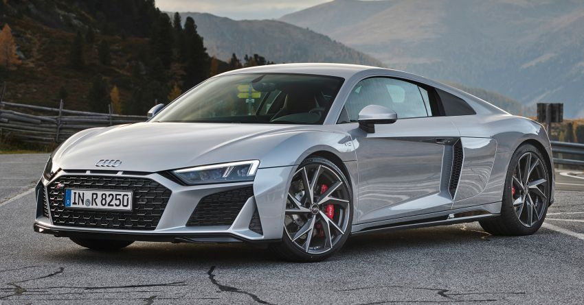 2020 Audi R8 V10 RWD returns as a permanent model Image #1042846