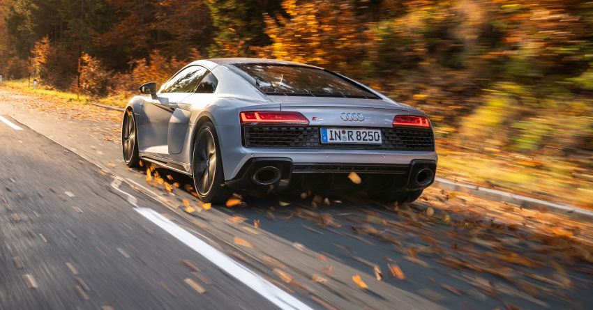 2020 Audi R8 V10 RWD returns as a permanent model Image #1042853