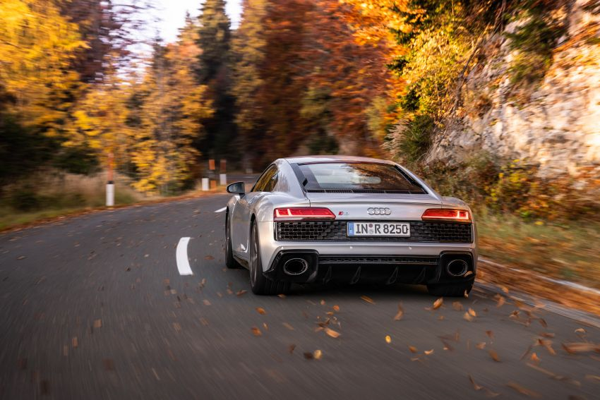 2020 Audi R8 V10 RWD returns as a permanent model Image #1042858