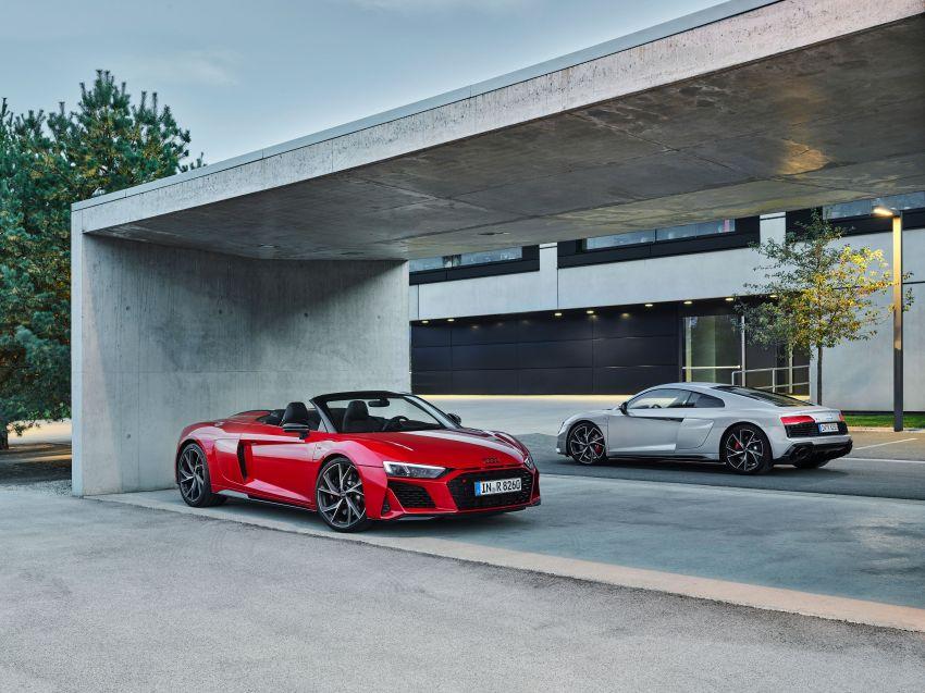 2020 Audi R8 V10 RWD returns as a permanent model Image #1042871