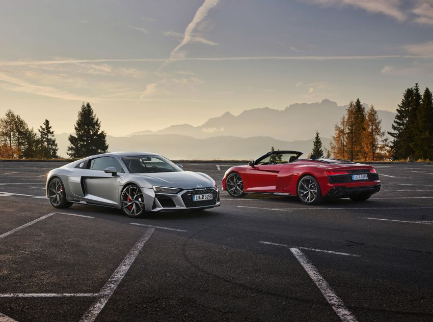 2020 Audi R8 V10 RWD returns as a permanent model Image #1042872