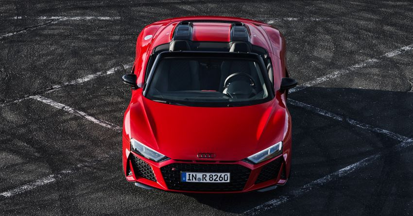 2020 Audi R8 V10 RWD returns as a permanent model Image #1042899