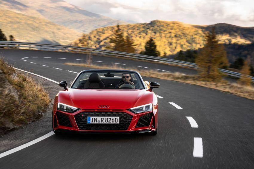 2020 Audi R8 V10 RWD returns as a permanent model Image #1042901