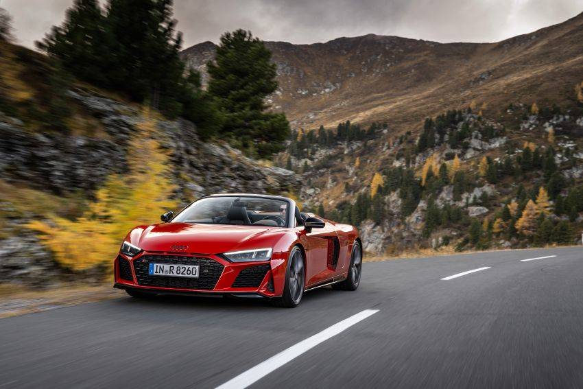 2020 Audi R8 V10 RWD returns as a permanent model Image #1042903