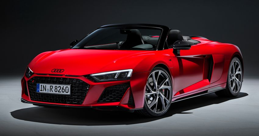 2020 Audi R8 V10 RWD returns as a permanent model Image #1042887