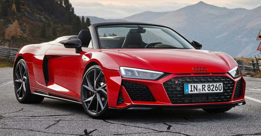 2020 Audi R8 V10 RWD returns as a permanent model Image #1042908