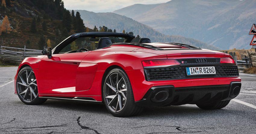 2020 Audi R8 V10 RWD returns as a permanent model Image #1042909