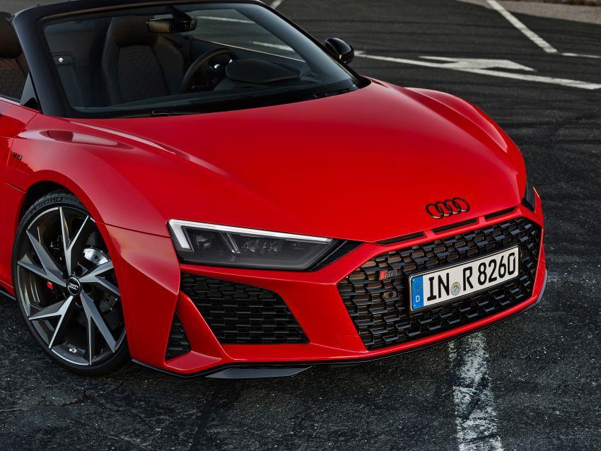 2020 Audi R8 V10 RWD returns as a permanent model Image #1042910