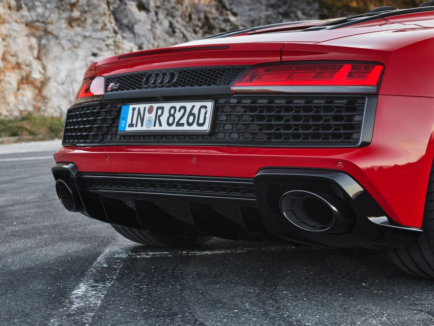 2020 Audi R8 V10 RWD returns as a permanent model Image #1042911