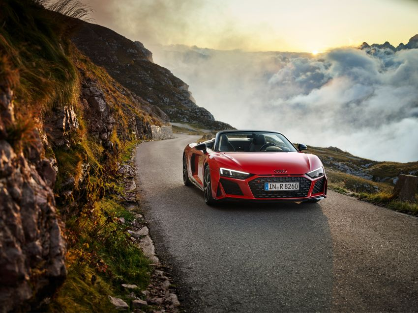 2020 Audi R8 V10 RWD returns as a permanent model Image #1042888