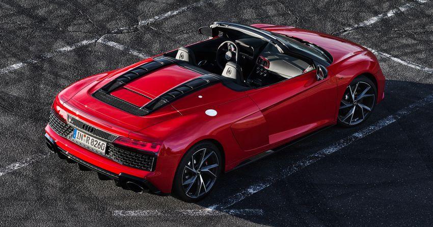 2020 Audi R8 V10 RWD returns as a permanent model Image #1042897