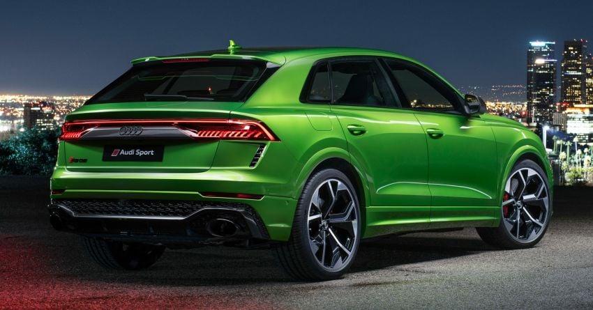 2020 Audi RS Q8 – beastly 4.0L V8; 600 PS, 800 Nm! Image #1049485