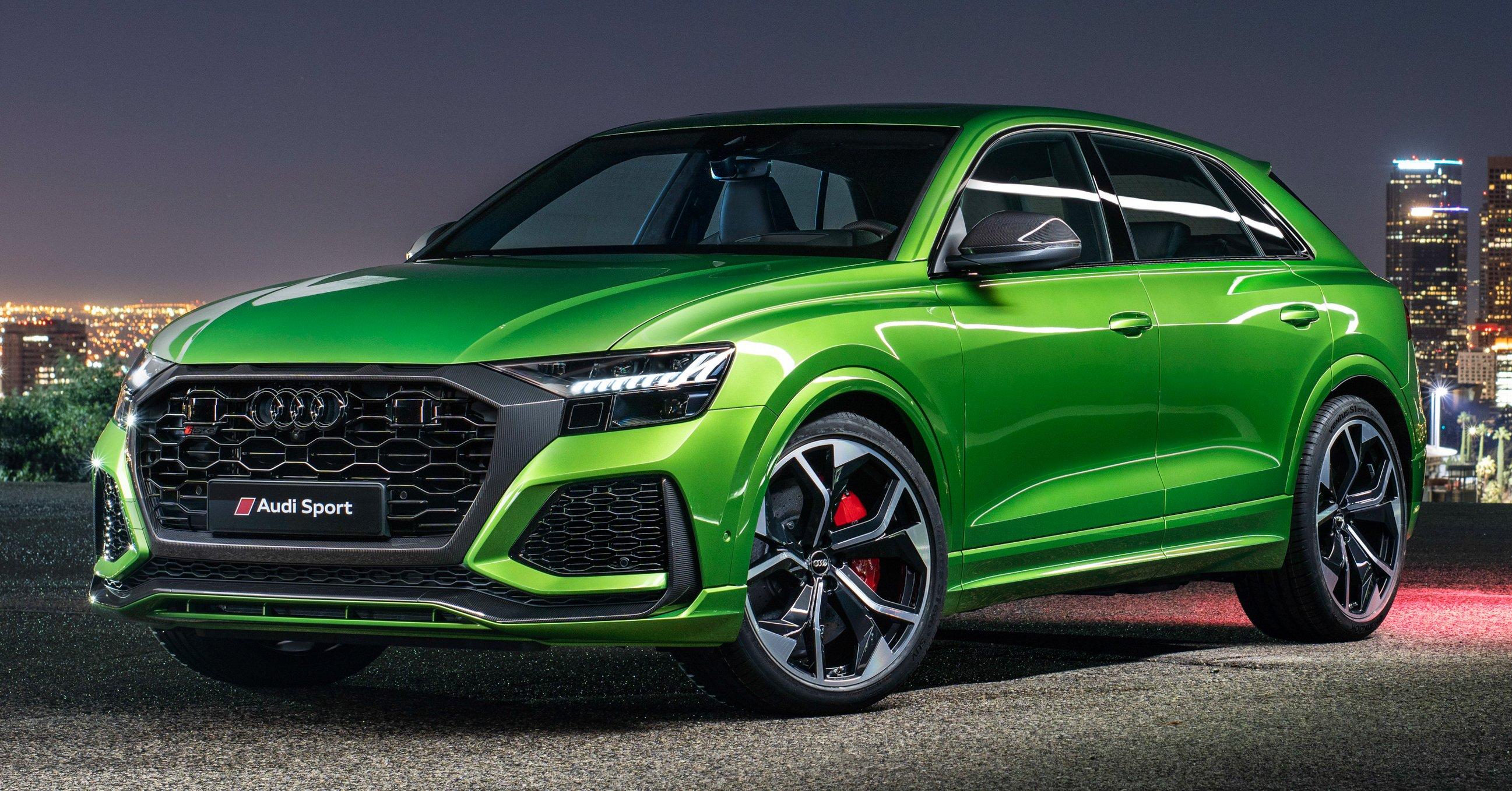 2020 Audi Rs Q8 Beastly 4 0l V8 600 Ps 800 Nm Paultan Org
