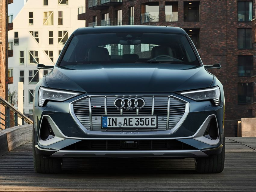 2020 Audi e-tron Sportback – sleek SUV coupe debuts with 355 hp, 561 Nm; 0-100 km/h in 6.6s, 446 km range Image #1048501