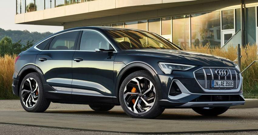 2020 Audi e-tron Sportback – sleek SUV coupe debuts with 355 hp, 561 Nm; 0-100 km/h in 6.6s, 446 km range Image #1048509