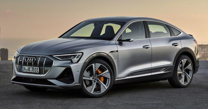 2020 Audi e-tron Sportback – sleek SUV coupe debuts with 355 hp, 561 Nm; 0-100 km/h in 6.6s, 446 km range Image #1048516