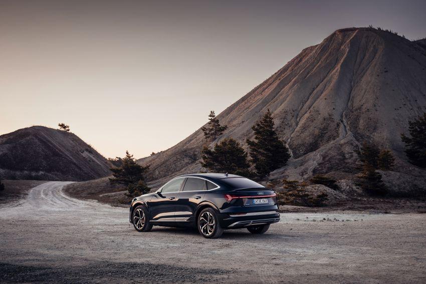2020 Audi e-tron Sportback – sleek SUV coupe debuts with 355 hp, 561 Nm; 0-100 km/h in 6.6s, 446 km range Image #1048518