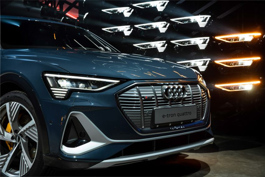 2020 Audi e-tron Sportback – sleek SUV coupe debuts with 355 hp, 561 Nm; 0-100 km/h in 6.6s, 446 km range Image #1048542