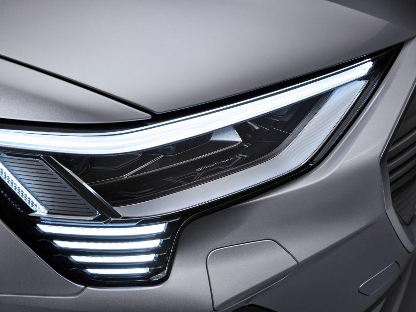 2020 Audi e-tron Sportback – sleek SUV coupe debuts with 355 hp, 561 Nm; 0-100 km/h in 6.6s, 446 km range Image #1048547