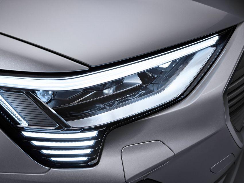 2020 Audi e-tron Sportback – sleek SUV coupe debuts with 355 hp, 561 Nm; 0-100 km/h in 6.6s, 446 km range Image #1048548