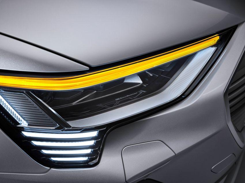 2020 Audi e-tron Sportback – sleek SUV coupe debuts with 355 hp, 561 Nm; 0-100 km/h in 6.6s, 446 km range Image #1048550