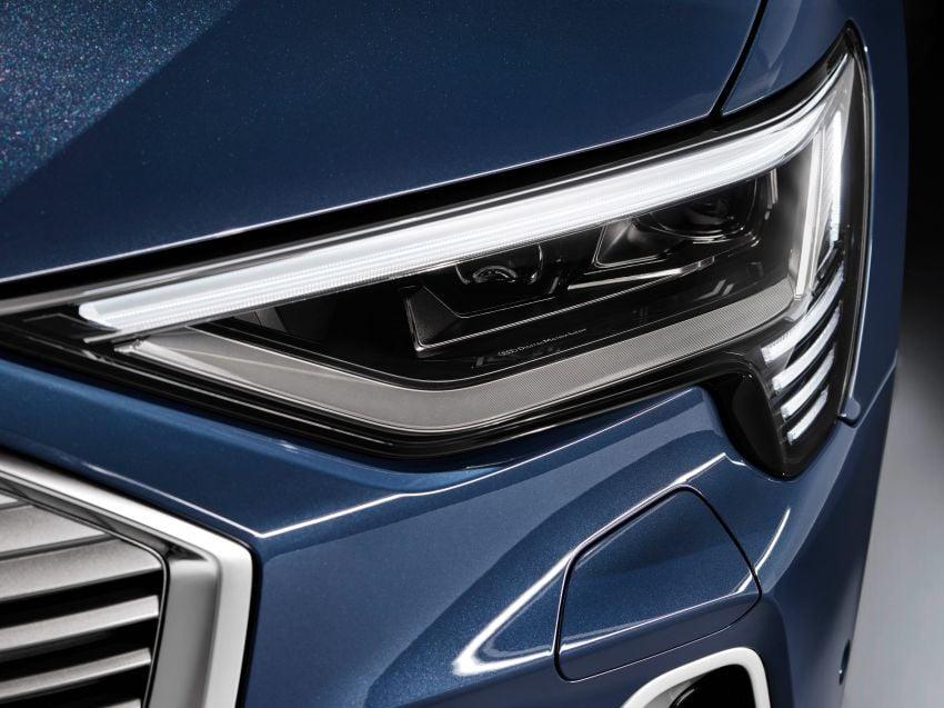 2020 Audi e-tron Sportback – sleek SUV coupe debuts with 355 hp, 561 Nm; 0-100 km/h in 6.6s, 446 km range Image #1048551