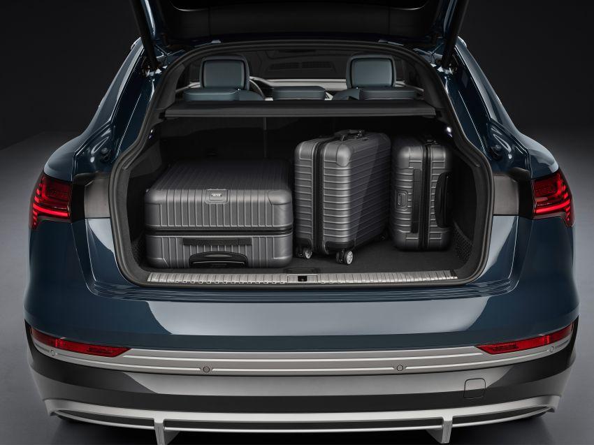2020 Audi e-tron Sportback – sleek SUV coupe debuts with 355 hp, 561 Nm; 0-100 km/h in 6.6s, 446 km range Image #1048562
