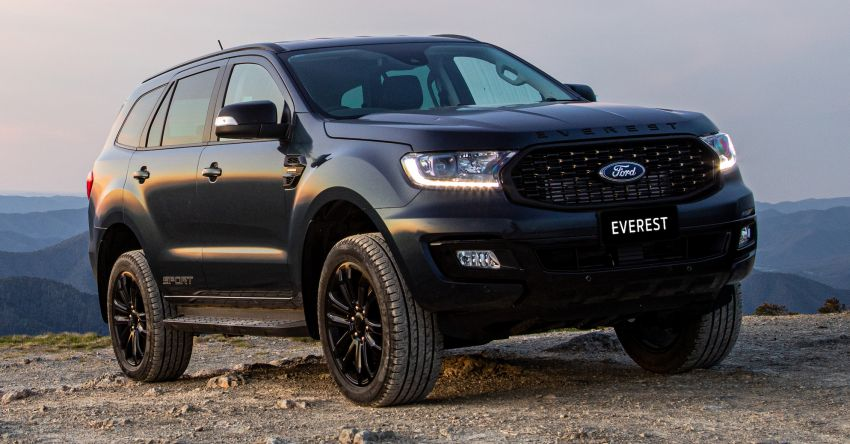 2020 Ford Everest Sport debuts in Thailand – RM193k Image #1048106