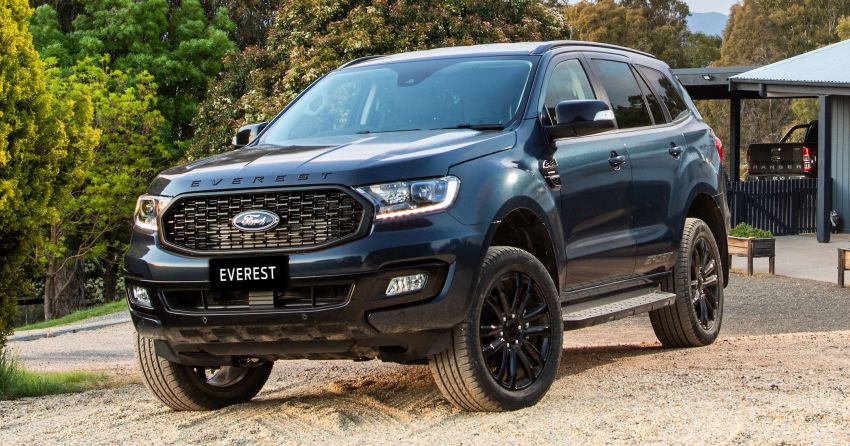 2020 Ford Everest Sport debuts in Thailand – RM193k Image #1048105