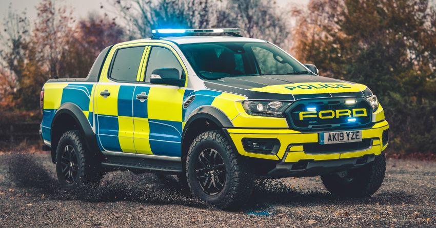 Ford Ranger Raptor, Focus ST Wagon – UK's cop cars Image #1053244