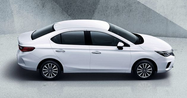 2020 Honda City Debuts In Thailand New Fifth Gen Model