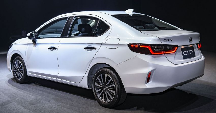 2020 Honda City debuts in Thailand – new fifth-gen model gets a 1.0L turbo engine with 122 PS, 173 Nm Image #1052358
