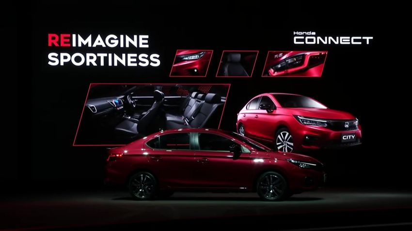 2020 Honda City debuts in Thailand – new fifth-gen model gets a 1.0L turbo engine with 122 PS, 173 Nm Image #1050807