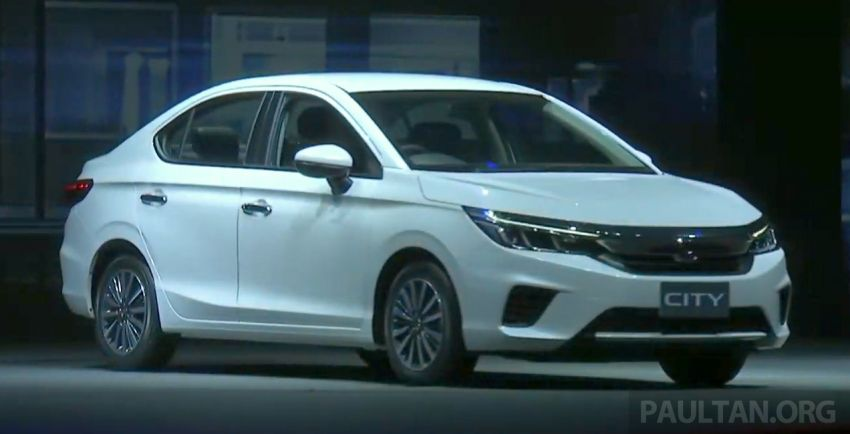 2020 Honda City debuts in Thailand – new fifth-gen model gets a 1.0L turbo engine with 122 PS, 173 Nm Image #1050613