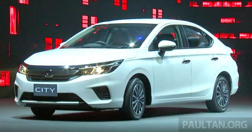 2020 Honda City debuts in Thailand – new fifth-gen model gets a 1.0L turbo engine with 122 PS, 173 Nm Image #1050615