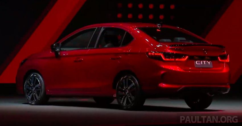 2020 Honda City debuts in Thailand – new fifth-gen model gets a 1.0L turbo engine with 122 PS, 173 Nm Image #1050616