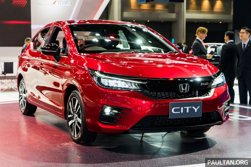 GALLERY: 2020 Honda City on display at Thailand Motor Expo – 1.0L turbo engine with 122 PS, 173 Nm Image #1052939