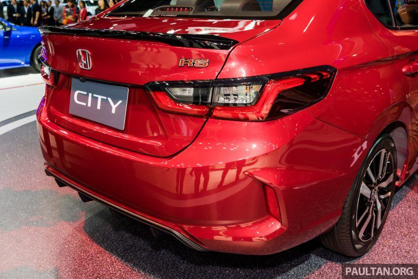 GALERI: Honda City 2020 di Thailand – tiga tingkat kemasan, enjin 1.0 liter turbo, 122 PS dan 173 Nm Image #1053124