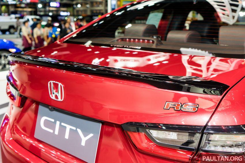 GALERI: Honda City 2020 di Thailand – tiga tingkat kemasan, enjin 1.0 liter turbo, 122 PS dan 173 Nm Image #1053126