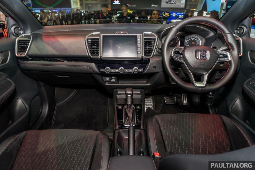 GALERI: Honda City 2020 di Thailand – tiga tingkat kemasan, enjin 1.0 liter turbo, 122 PS dan 173 Nm Image #1053135