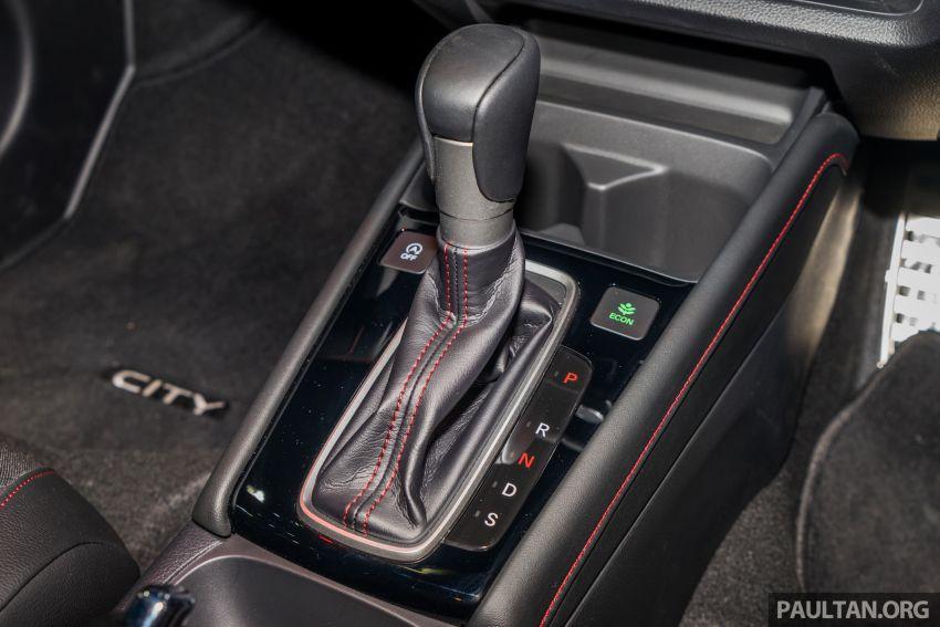 GALERI: Honda City 2020 di Thailand – tiga tingkat kemasan, enjin 1.0 liter turbo, 122 PS dan 173 Nm Image #1053143