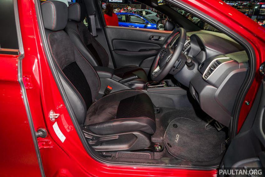 GALERI: Honda City 2020 di Thailand – tiga tingkat kemasan, enjin 1.0 liter turbo, 122 PS dan 173 Nm Image #1053155